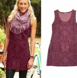 ATHLETA Shayla Animal Print Tank Shift Dress